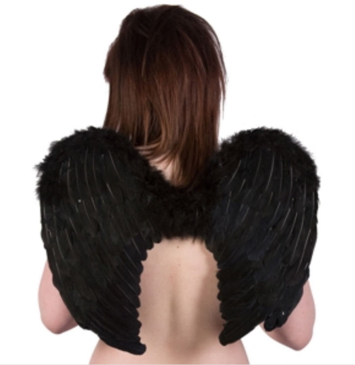 krídla menšie POIZEN INDUSTRIES - Black