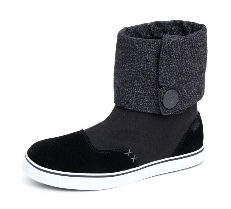 topánky dámske ETNIES - Lounge ws - BLACK-DARK GREY