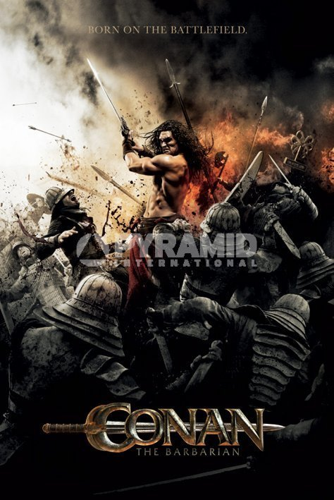 plagát Conan The Barbarian - Battlefield - PYRAMID POSTERS - PP32646