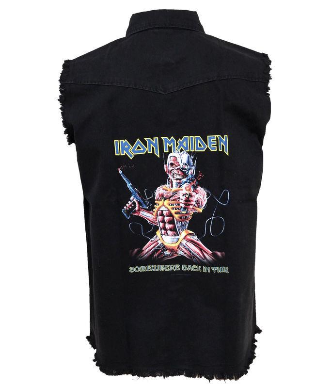 vesta pánska Iron Maiden - Somewhere Back In Time - RAZAMATAZ