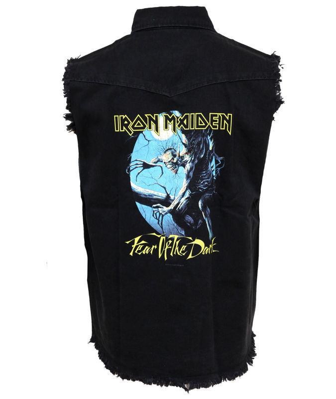vesta pánska Iron Maiden - Fear Of The Dark - RAZAMATAZ