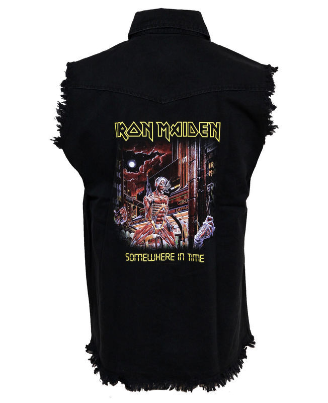 vesta pánska Iron Maiden - Somewhere In Time - RAZAMATAZ