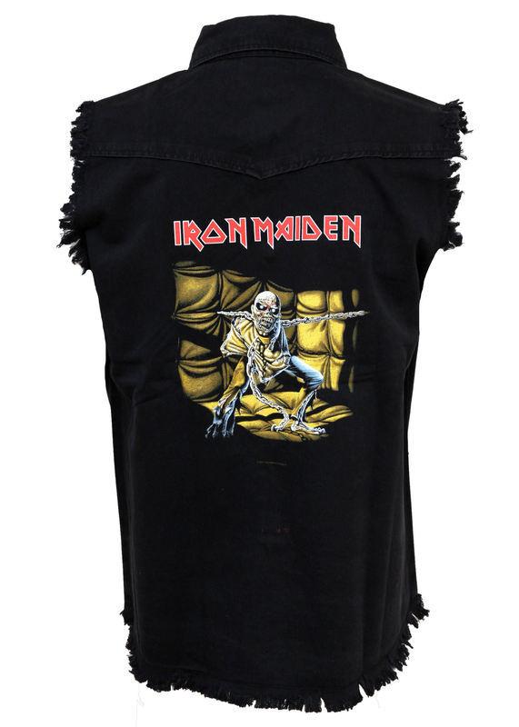 vesta pánska Iron Maiden - Piece Of Mind - RAZAMATAZ