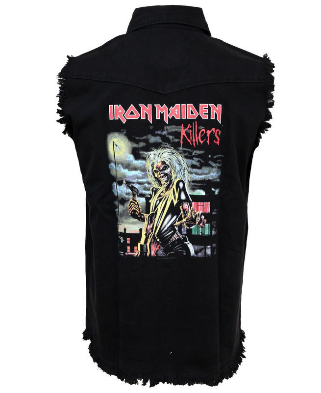 vesta pánska Iron Maiden - Killers - WS025 - RAZAMATAZ