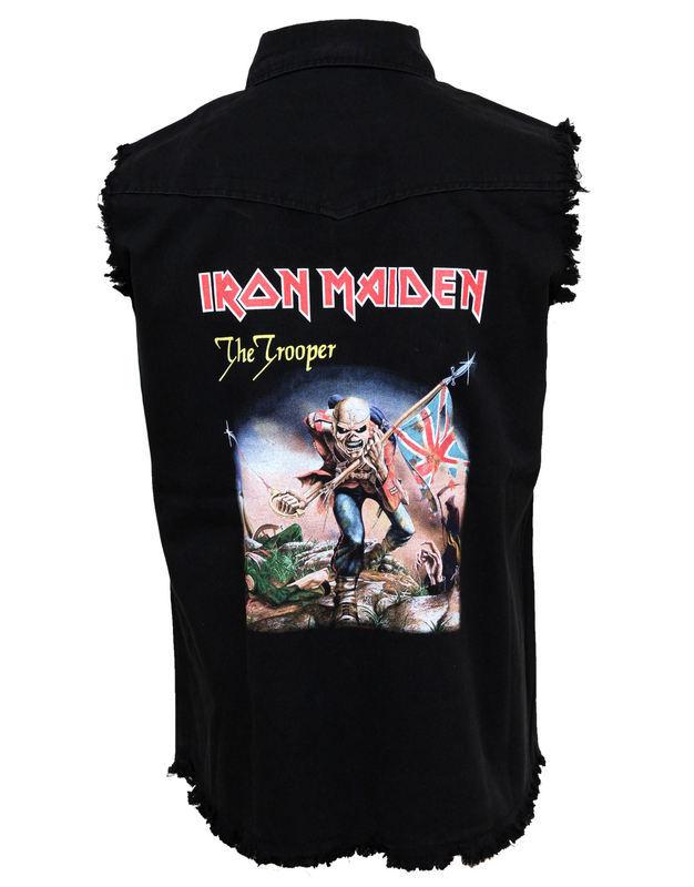 vesta pánska Iron Maiden - The Trooper - RAZAMATAZ