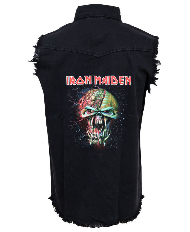 vesta pánska Iron Maiden - The Final Frontier Face - RAZAMATAZ