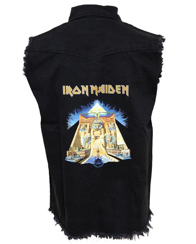 vesta pánska Iron Maiden - Powerslave - RAZAMATAZ