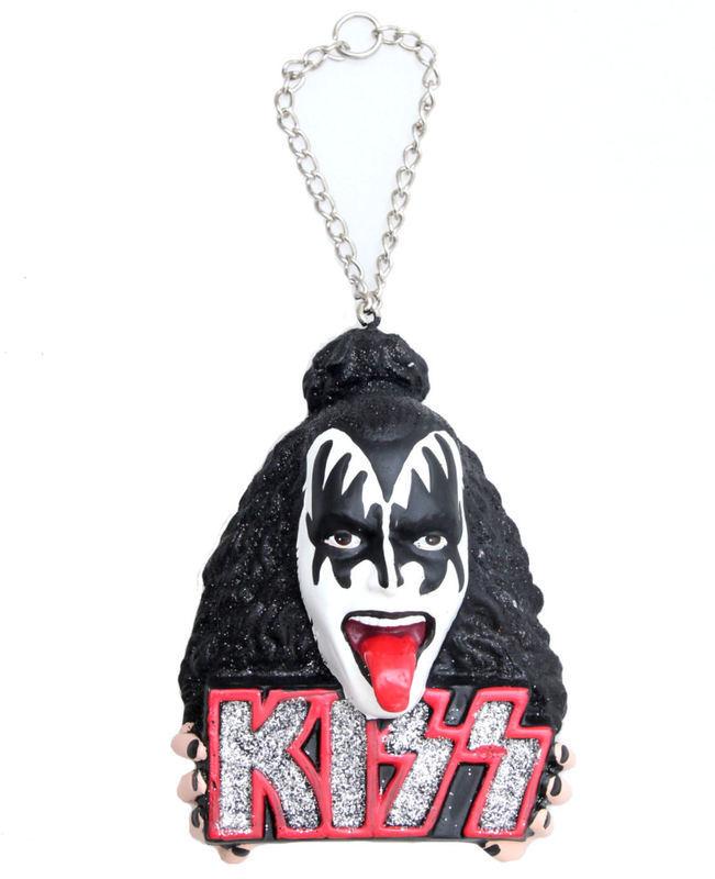 vianočné výzdoba KISS - Demon Head Ornament - ROCK OFF - KS2105