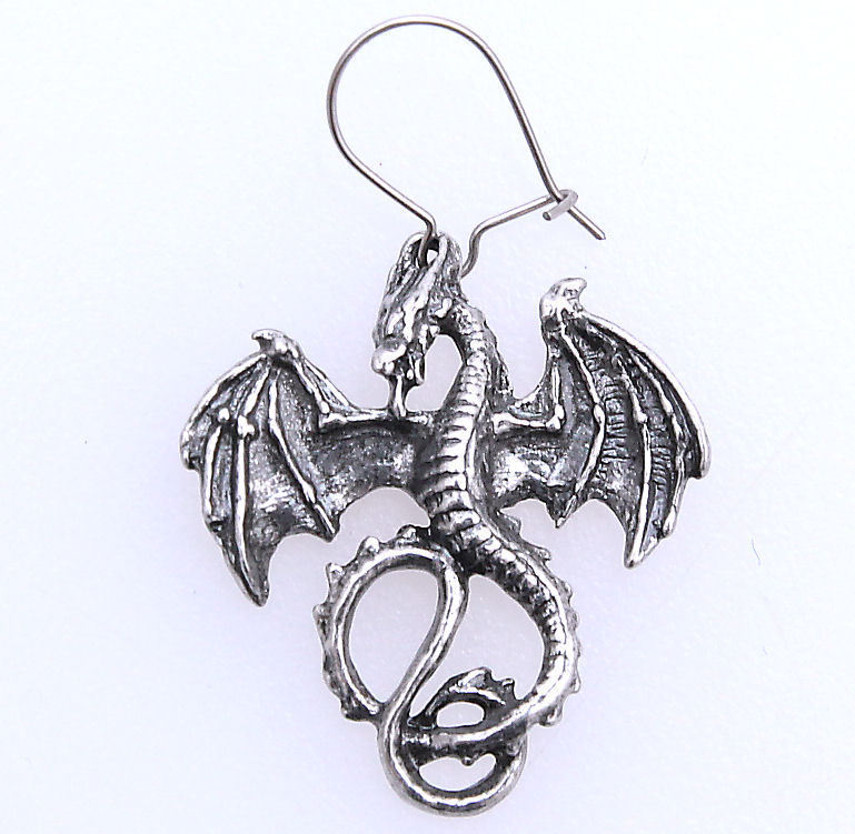 náušnice Wyverex Earring ALCHEMY GOTHIC - E175