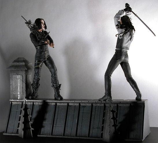figúrka The Crow - Rooftop Battle - NECA39683