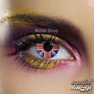 kontaktné šošovka Union Jack - Flag - EDIT - 83701
