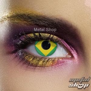 kontaktné šošovka Flag Brazil - EDIT - 83501