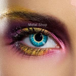 set kontaktné šošovka Yellow Blue Fusion a dezinfekčné sada - EDIT - 82272