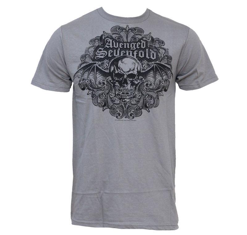 tričko pánske Avenged Sevenfold - Scrolled 30/1 - BRAVADO USA