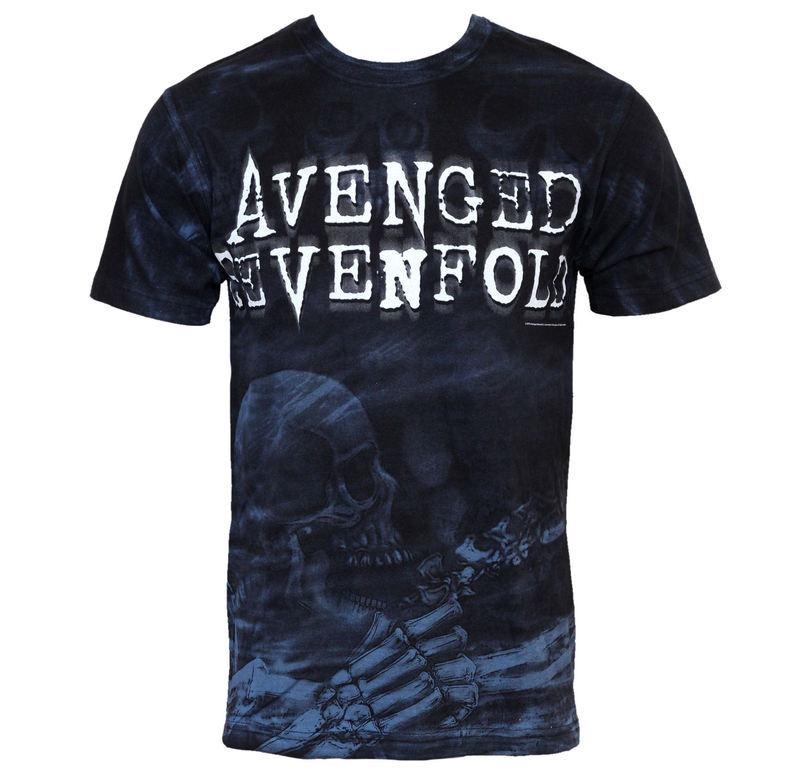 tričko pánske Avenged Sevenfold - Skeleton Mist - BRAVADO USA