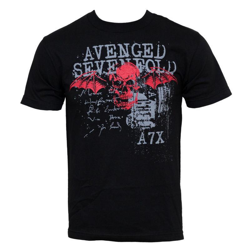 tričko pánske Avenged Sevenfold - Sketchy - BRAVADO USA