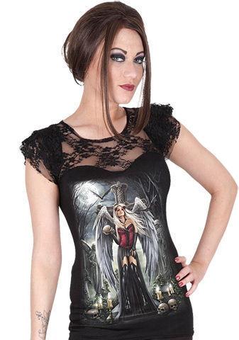tričko dámske SPIRAL - Angel Of Death Sorrow - DT209262