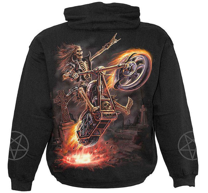 mikina detská SPIRAL - Hell Rider - TR250531