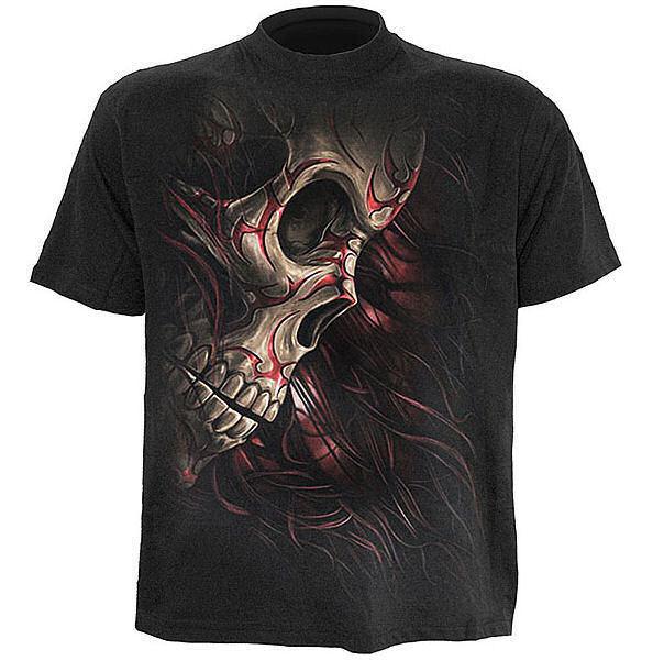 tričko pánske SPIRAL - Skull Tattoo Rev - TR322600