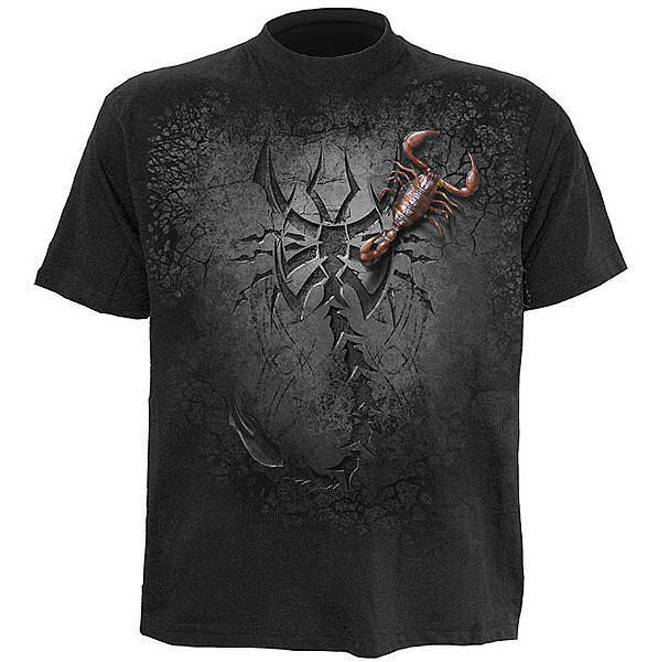tričko pánske SPIRAL - Tribal Scorpion - TR323600
