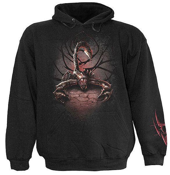 mikina pánska SPIRAL - Tribal Scorpion - TR323800