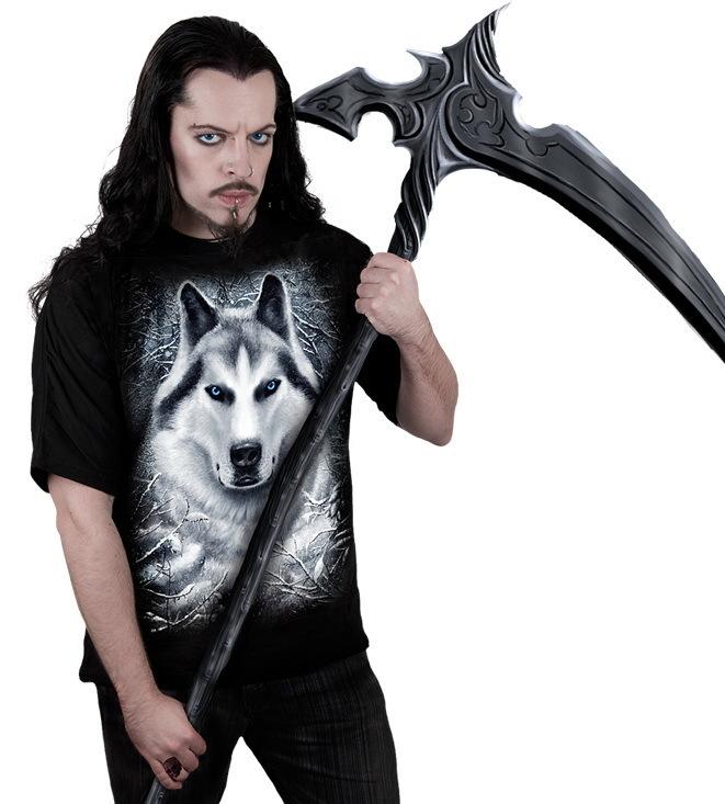 tričko pánske SPIRAL - White Wolf - TR324600
