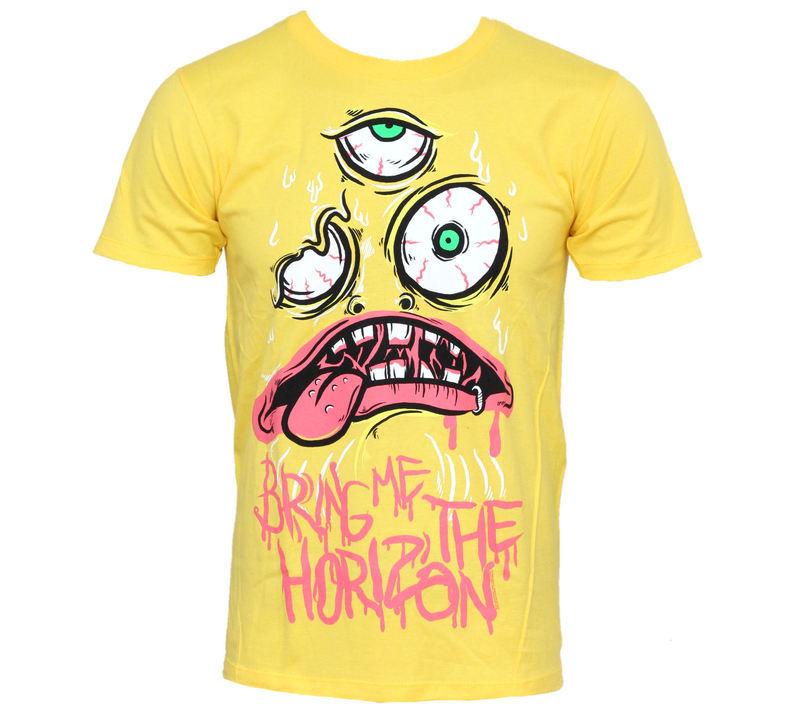 tričko pánske Bring Me The Horizon - KK Yellow - BRAVADO USA