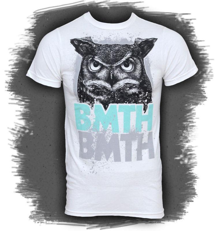tričko pánske Bring Me The Horizont - Owl - BRAVADO USA