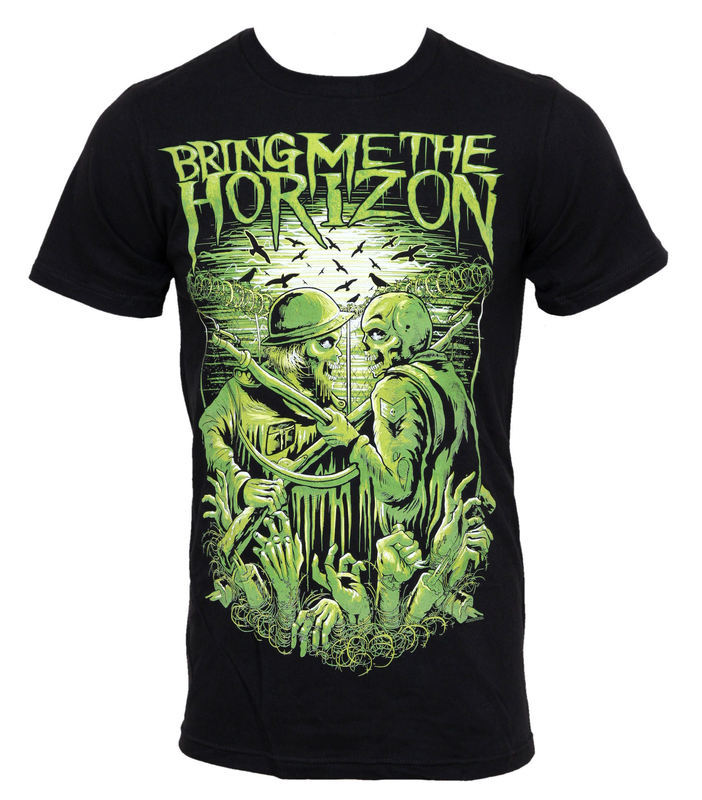 tričko pánske Bring Me The Horizon - WWII Limited - BRAVADO USA