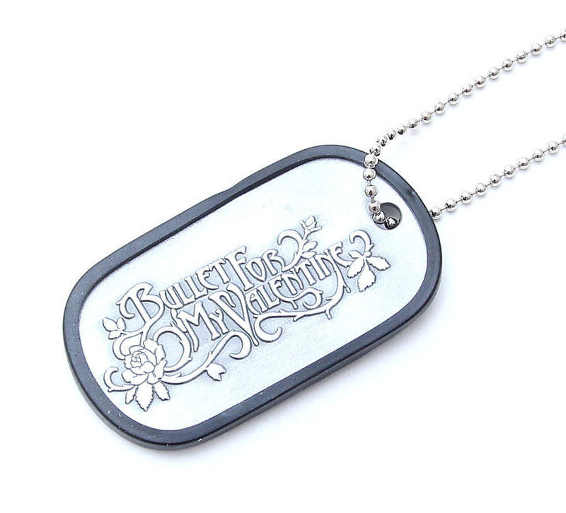 obojok (psie známka) Bullet For My Valentine - Lyric Dog Tag - BRAVADO USA