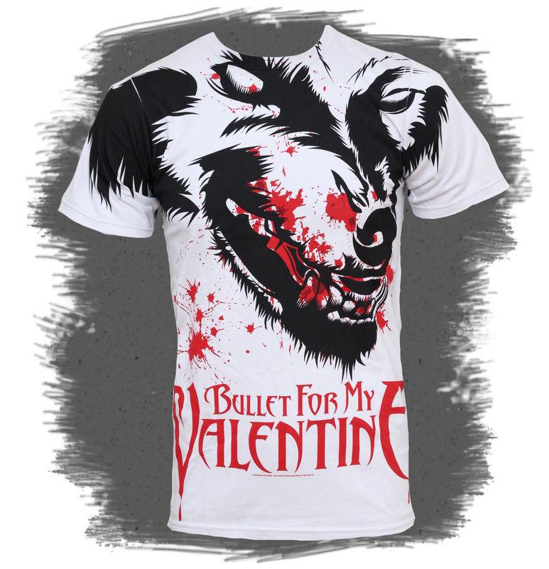 tričko pánske Bullet For My Valentine - Werewolf AO 30/1 - BRAVADO - BFV2064