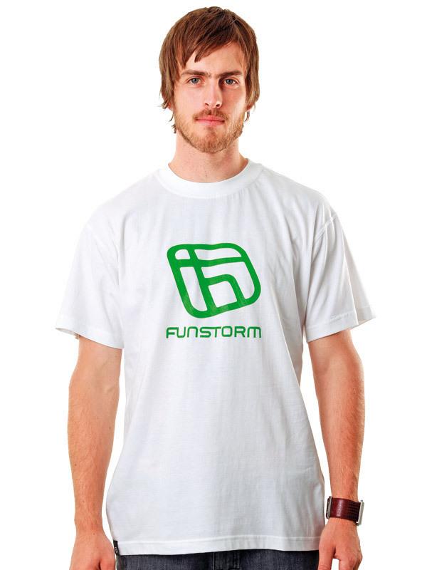 tričko pánske FUNSTORM - I.D. - 31 WHITE