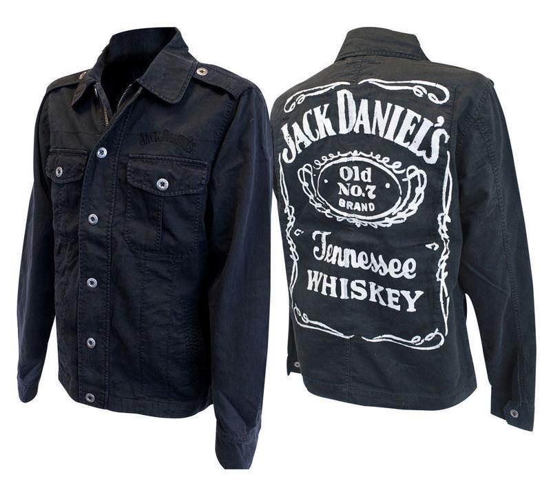 bunda pánska jarno-jesenná Jack Daniels - JK623005JDS