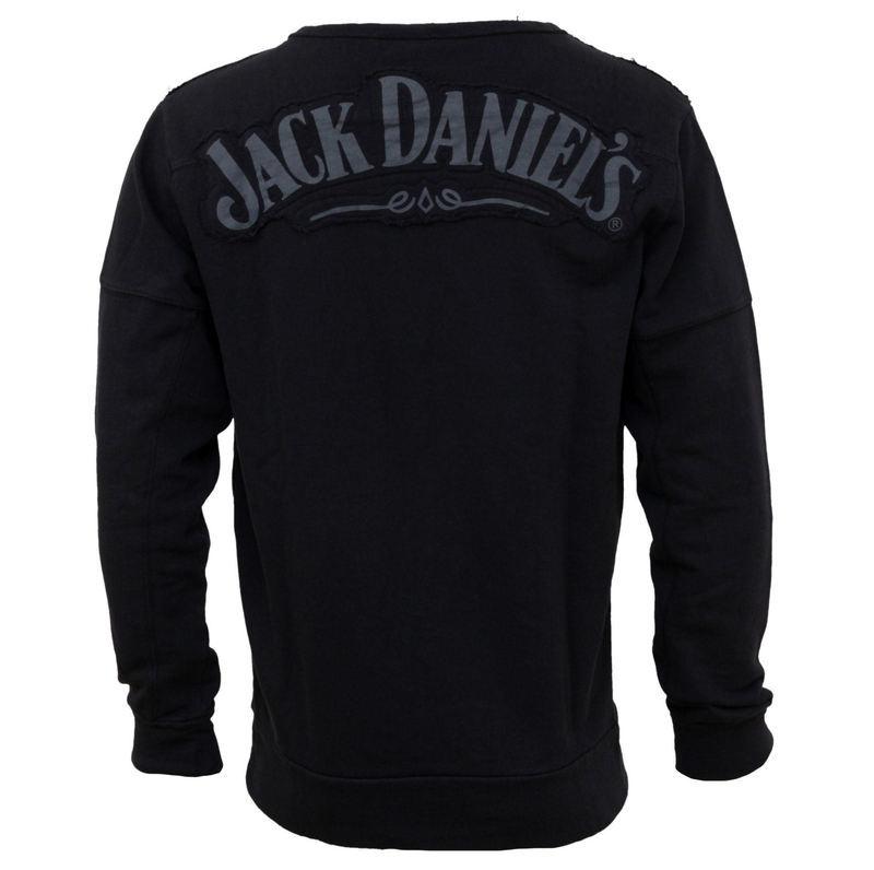 tričko pánske s dlhým rukávom Jack Daniels - Black - SW298218JDS