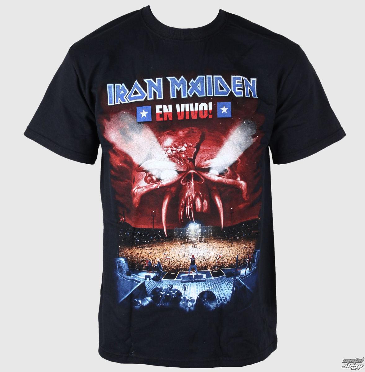 tričko pánske Iron Maiden - En Vivo - EMI - IMTEE16MB