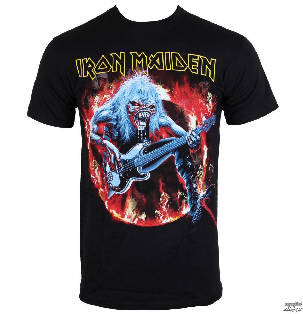 tričko pánske Iron Maiden - Fear Live Flames - EMI - IMTEE07MB