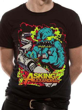 tričko pánske Asking Alexandria - Train Wreck - EMI - TSB 8462