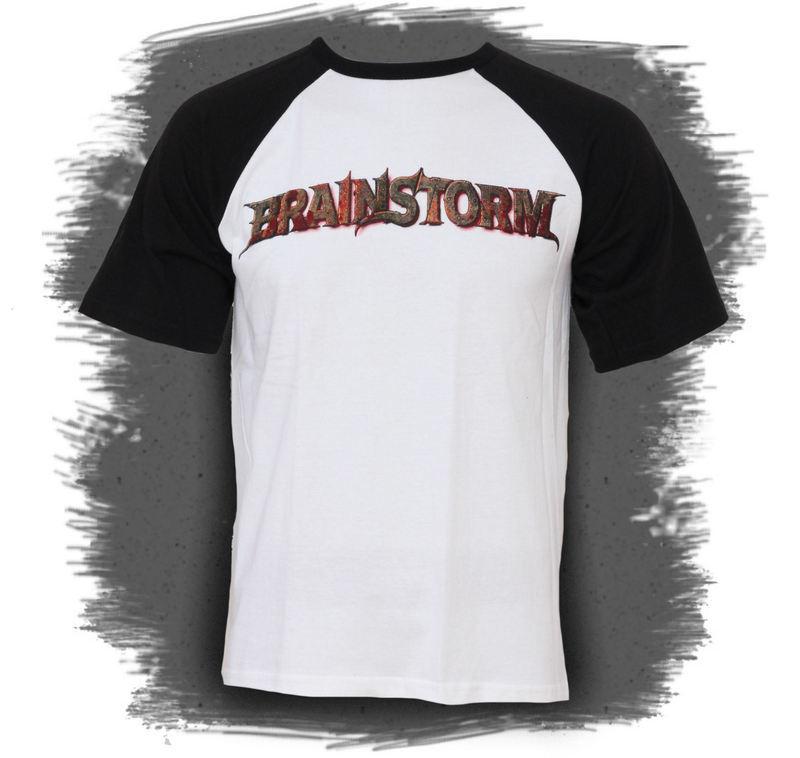 tričko pánske Brainstorm - Logo Baseball - Raglan - MUSICAT