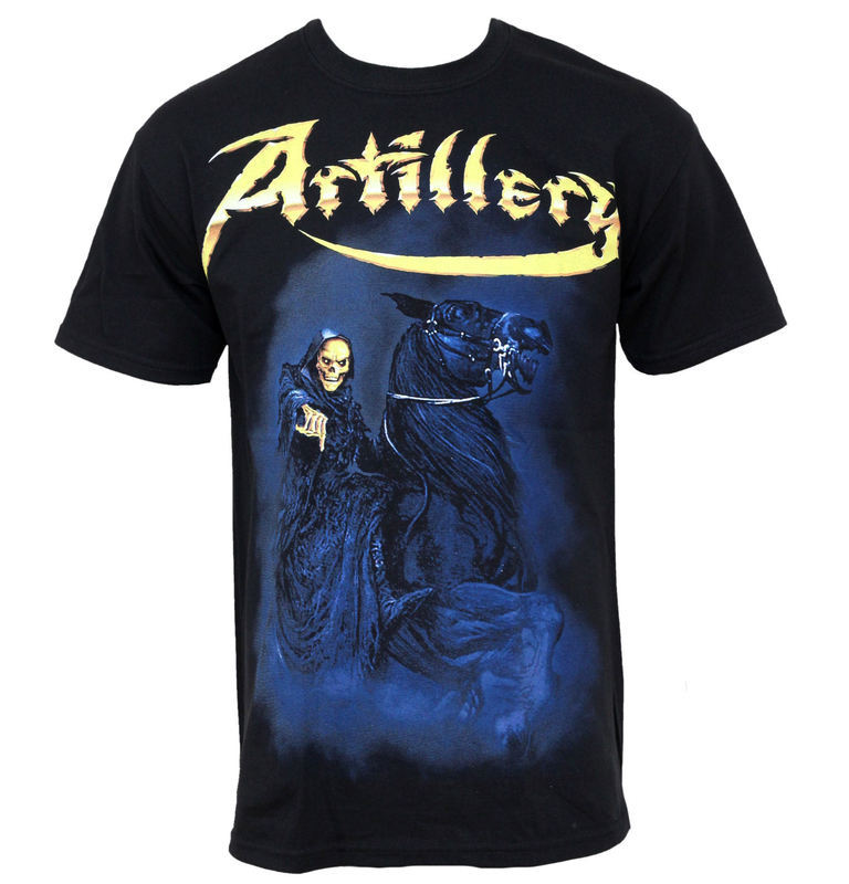 tričko pánske Artillery - When Death - MUSICAT