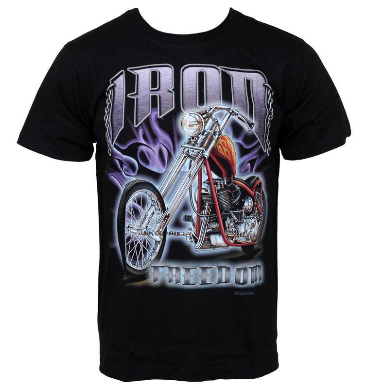 tričko pánske HERO BUFF - Iron Ride - HB225
