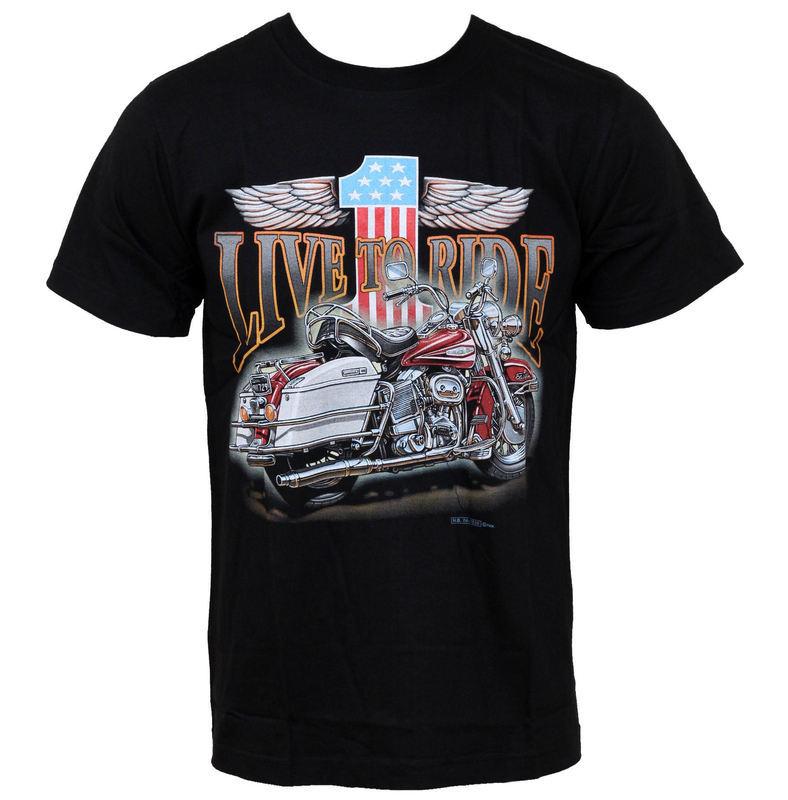 tričko pánske HERO BUFF - Live To Ride - HB230