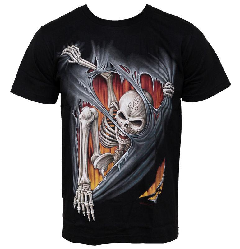 tričko pánske HERO BUFF - Dirty Skull - HB177