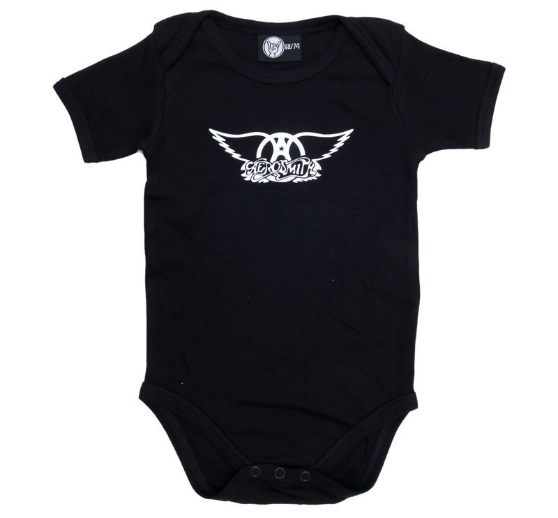 body detské Aerosmith - Logo - Black - Metal-Kids
