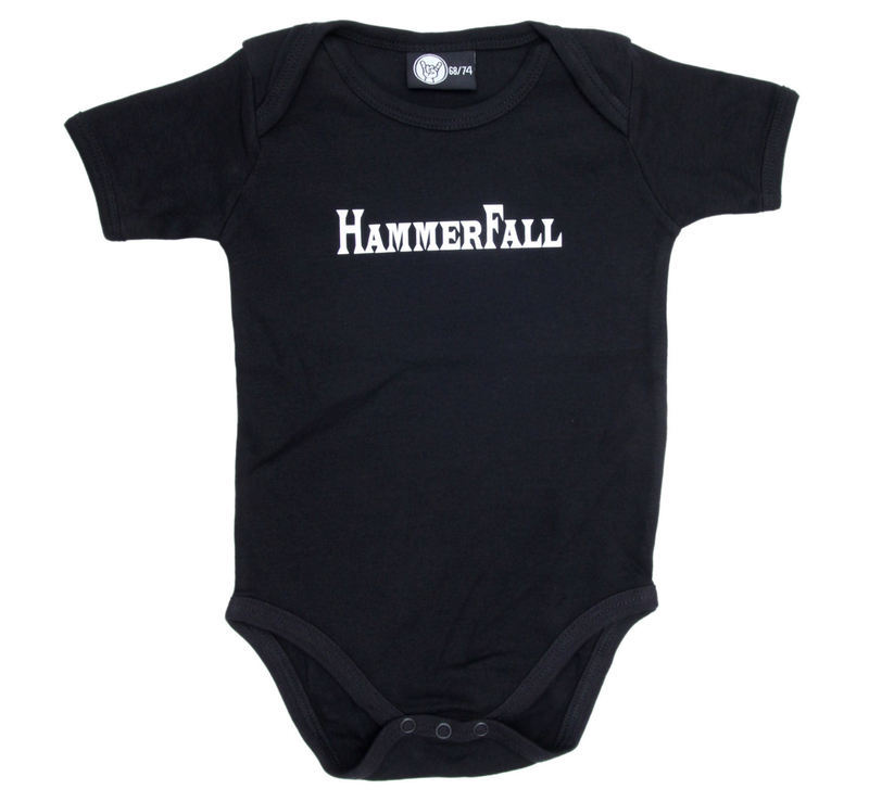 body detské Hammerfall - Logo - Black - Metal-Kids