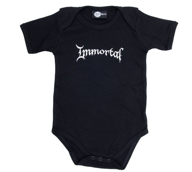 body detské Immortal - Logo - Black - Metal-Kids
