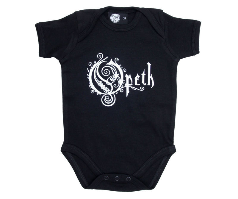 body detské Opeth - Logo - Black - Metal-Kids