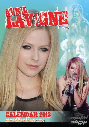 kalendár na rok 2013 Avril Lavigne - DRM-003