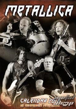 kalendár na rok 2013 Metallica - DRM-017