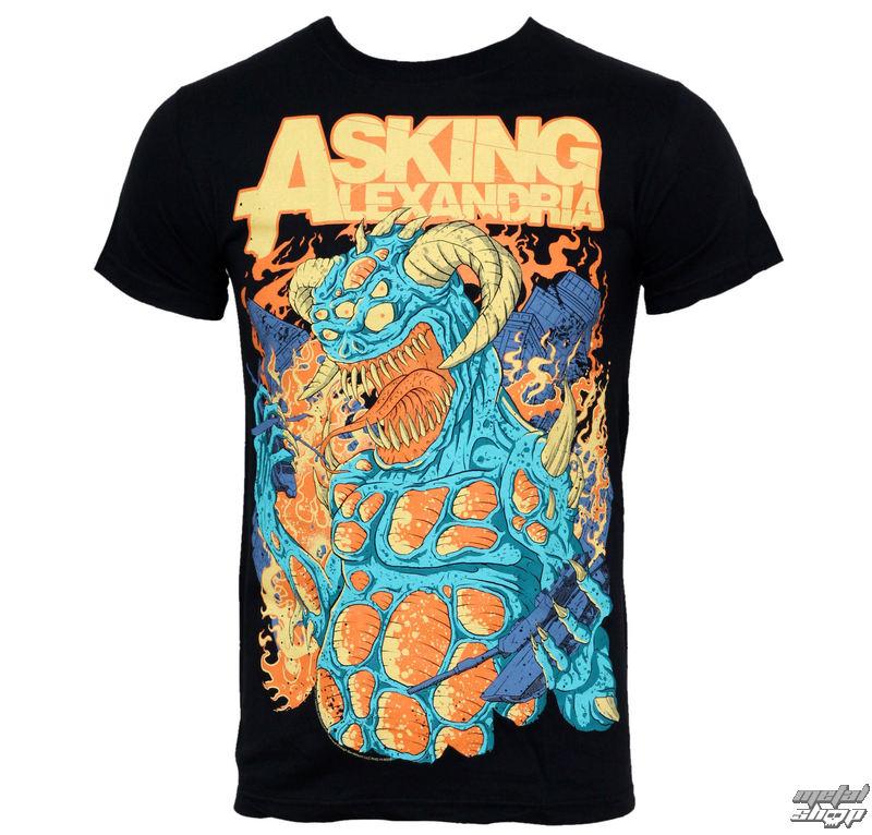 tričko pánske Asking Alexandria - Monster - PLASTIC HEAD - PH6055