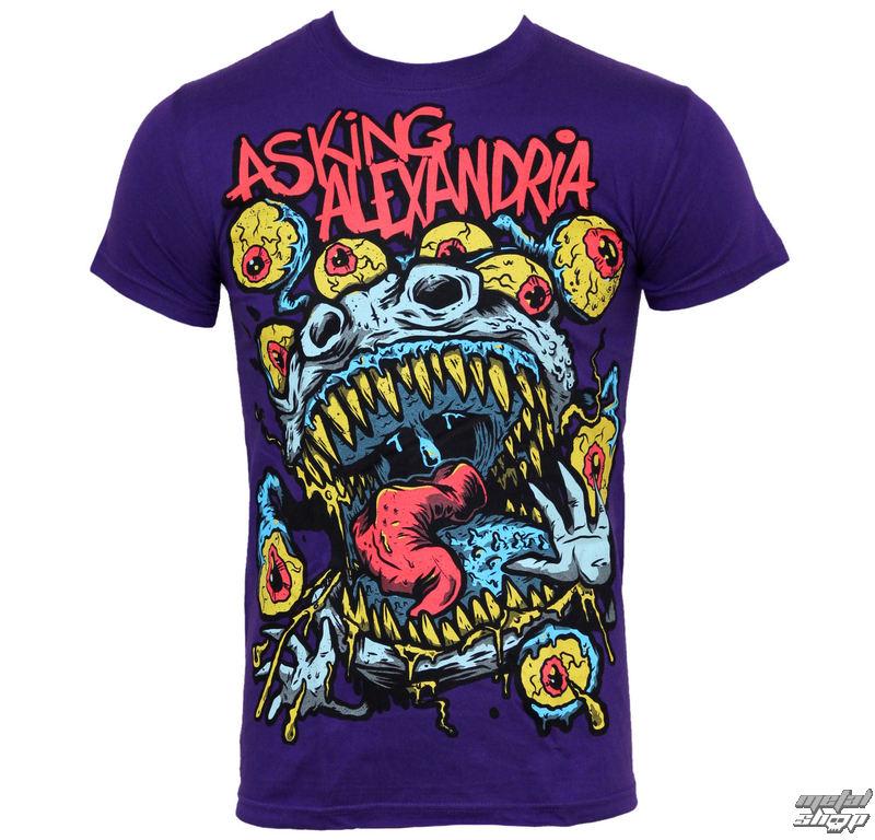 tričko pánske Asking Alexandria - Eyeballs - PLASTIC HEAD - PH5926